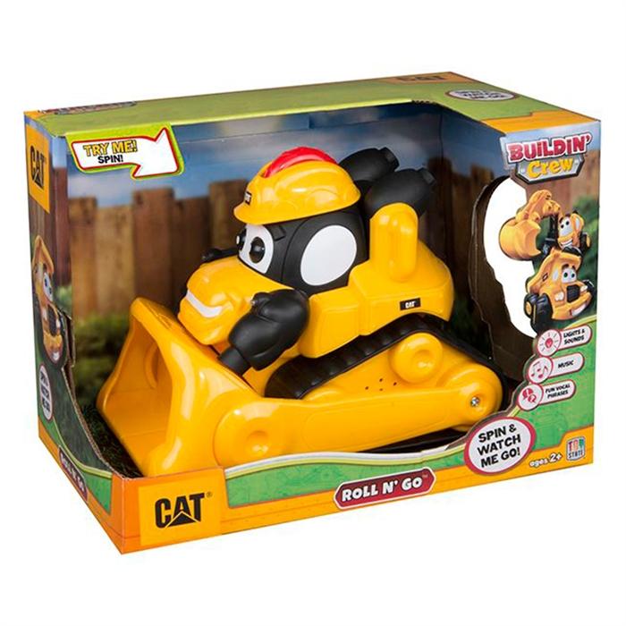 CAT Building Crew Okul Öncesi Sesli Çılgın Araçlar İş Makinesi 80422