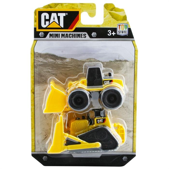 CAT Dozer ve Paletli Dozer 2'li Mini Araç