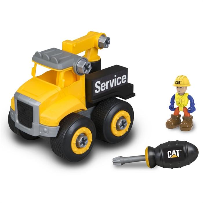CAT Küçük Operatör Sök Tak Araçlar Service Truck İş Makinesi