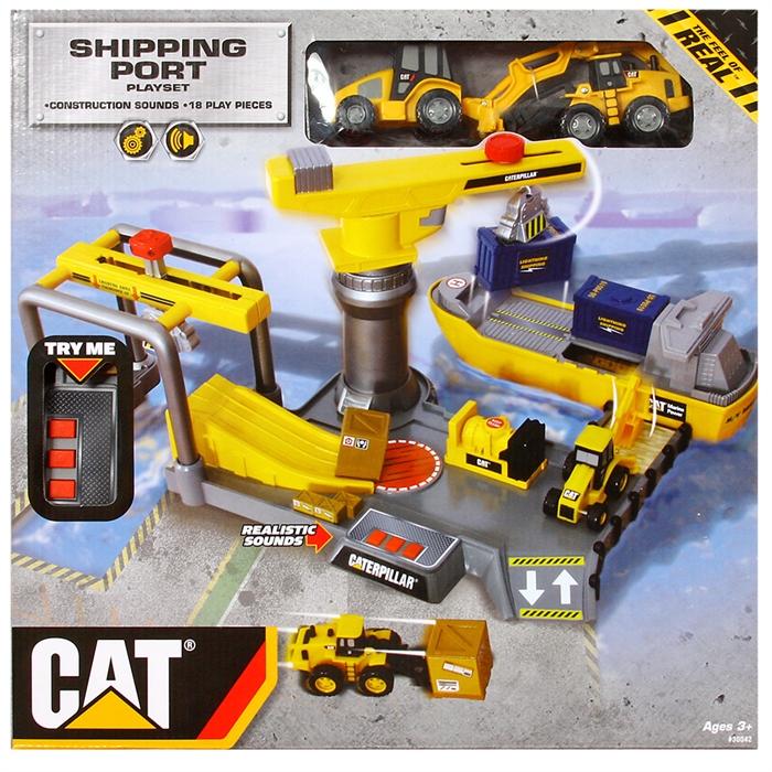 CAT Sesli ve Hareketli Liman Seti
