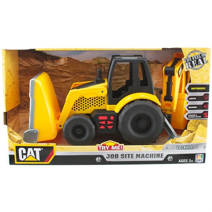 CAT Sesli Full Fonksiyonlu Backhoe İş Makinası