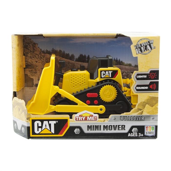 CAT Mini Sesli ve Işıklı Bulldozer İş Makinesi 34613