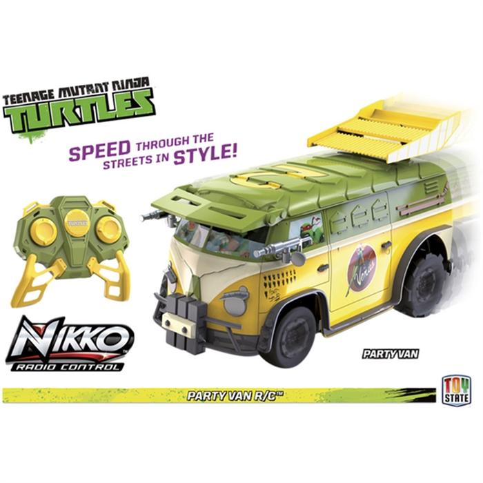 Nikko Uzaktan Kumandalı Ninja Turtles Party Van R/C