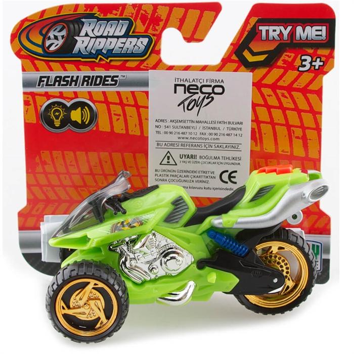 Road Rippers Sesli ve Işıklı Mini Motorsiklet 3 Tekerli