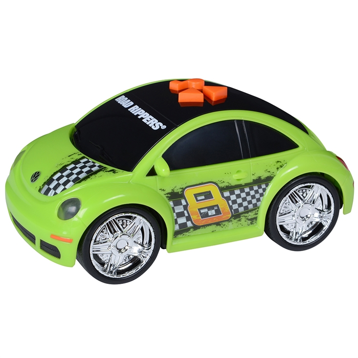 Road Rippers Sesli ve Işıklı Motorlu Araçlar Volkswagen New Beetle