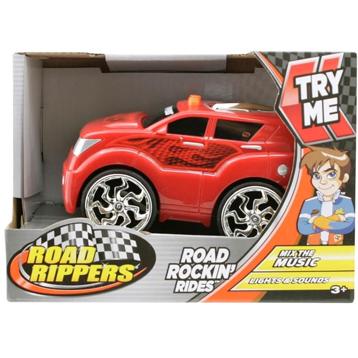 Road Rippers Road Rockin Sesli ve Işıklı Oyuncak Araba Kırmızı