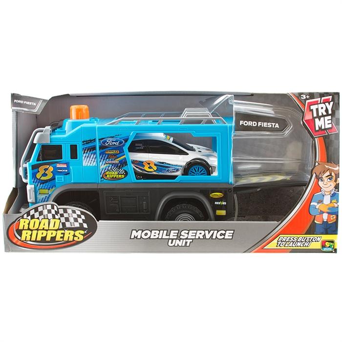 Road Rippers Mobil Servis Aracı Ford Fiesta Araç Seti