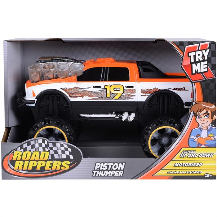 Road Rippers Dodge Ram 19 Hareketli Sesli ve Işıklı Oyuncak Araba