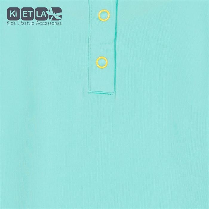 Kietla Anti UV T-Shirt 2-3 Yaş Green/Yellow