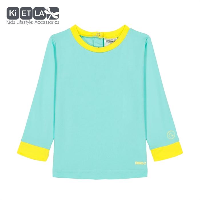 Kietla Anti UV T-Shirt 3-4 Yaş Green/Yellow