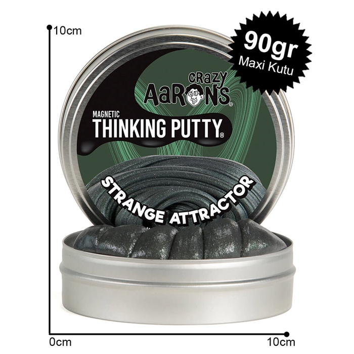Crazy Aaron's Thinking Putty Strange Attractor Maxi Kutu 90gr