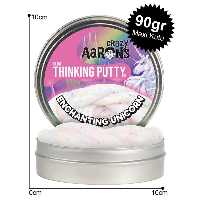 Crazy Aaron's Thinking Putty Enchanting Unicorn Maxi Kutu 90gr