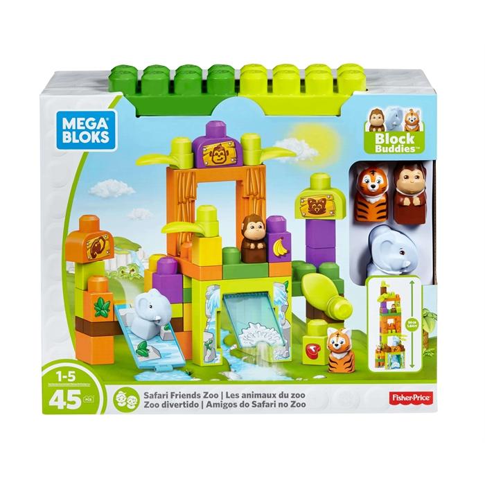 Mega Bloks Hikaye Temalı Bloklar - Safari Hayvanat Bahçesi Oyun Seti