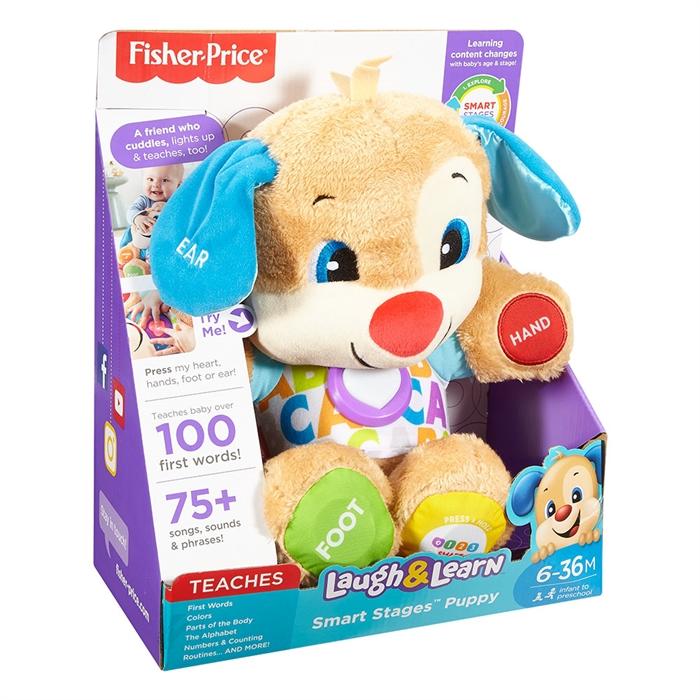 Fisher Price Eğlen ve Öğren Yaşa Göre Gelişim - Eğtici Köpekçik (Türkçe)