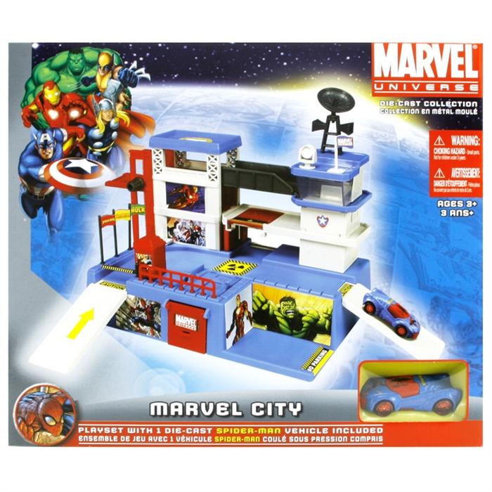 Maisto Marvel Universe City