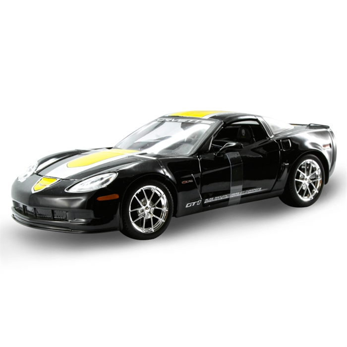 Maisto Chevrolet Corvette GT1 2009 1:24 Model Araba S/E Siyah