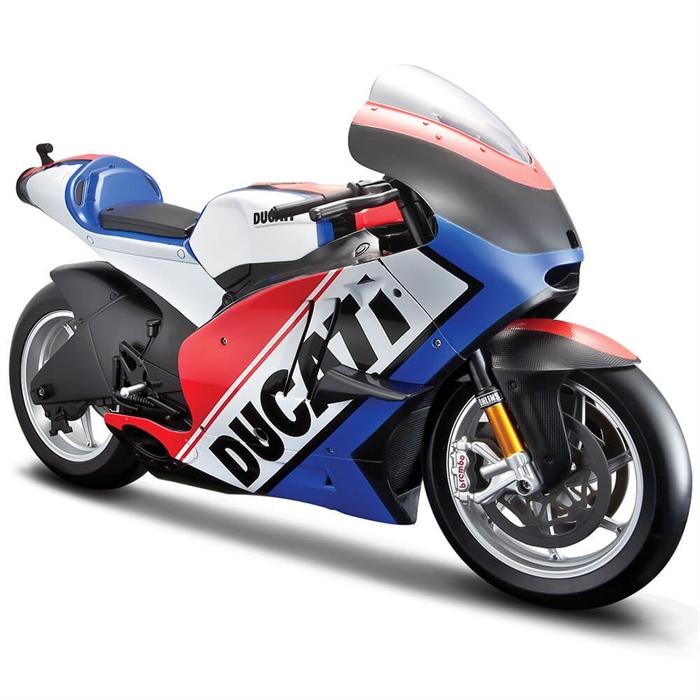 Maisto 2011 Ducati Desmosedici 1:6 Model Motorsiklet Mavi