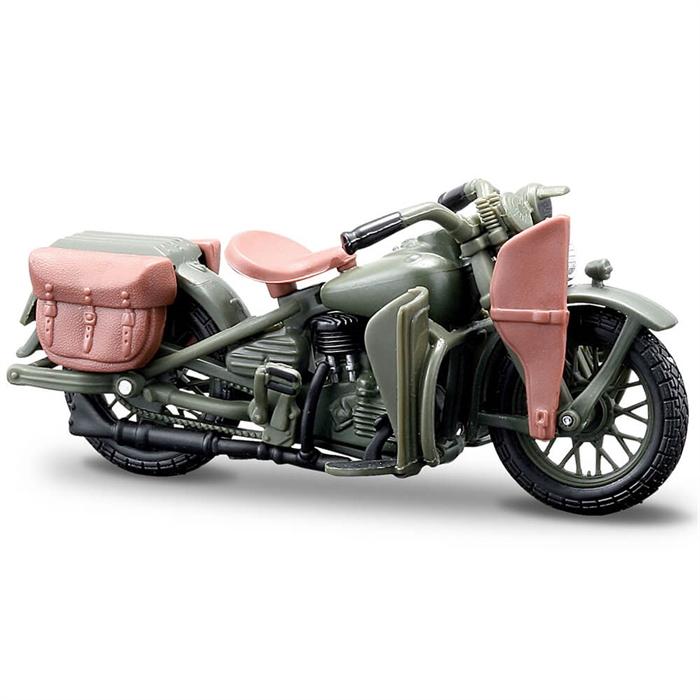 Maisto Harley Davidson 1942 WLA Flathead 1:24 Model Motorsiklet