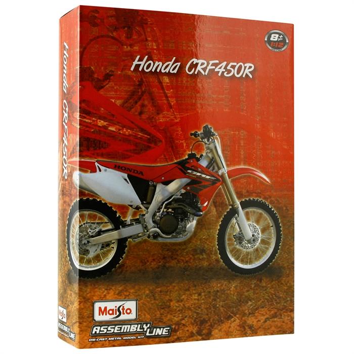 Maisto 1:12 Honda CRF450R Model Maket Kit Motorsiklet