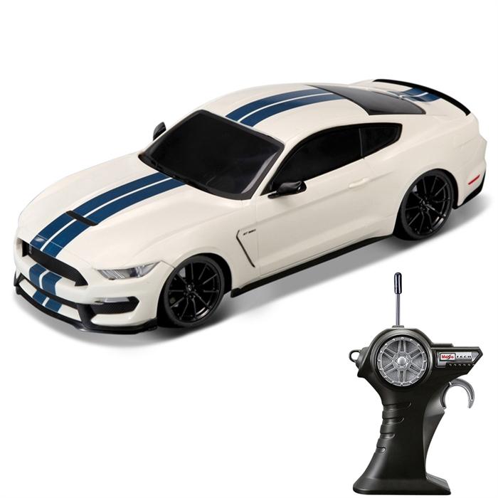 Maisto Ford Shelby GT350 Uzaktan Kumandalı Araba 1:24 Beyaz