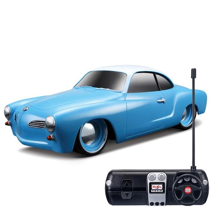 Maisto 1966 Volkswagen Karmann Ghiau U/K 1:24 Mavi