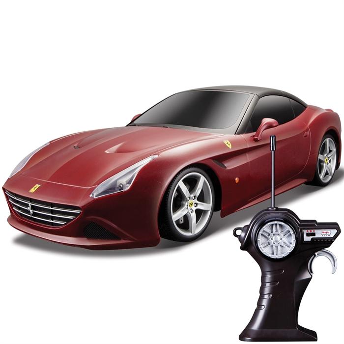 Maisto Tech Ferrari California T Uzaktan Kumandalı Araba 1:14 Bordo