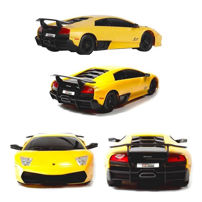 Maisto Tech 1:24 Lamborghini Murcielago LP670-4 SV U/K Araba Sarı