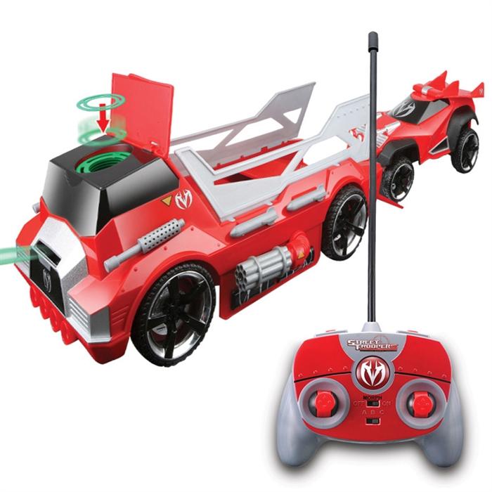 Maisto Tech Menace Hauler X3 Scout Uzaktan Kumandalı Araba Kırmızı