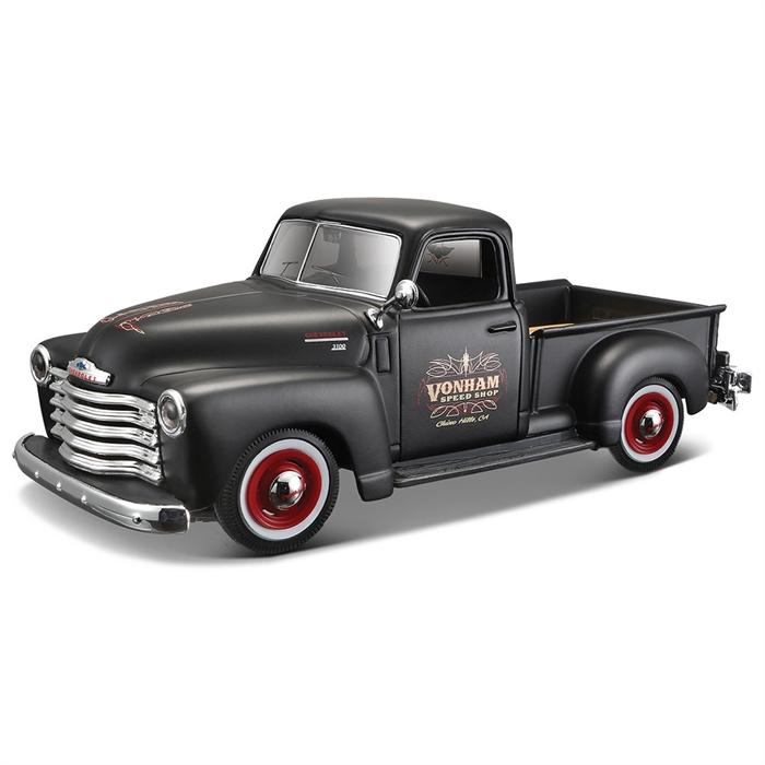 Maisto 1:25 1950 Chevrolet 3100 Pickup Model Araba+479:490
