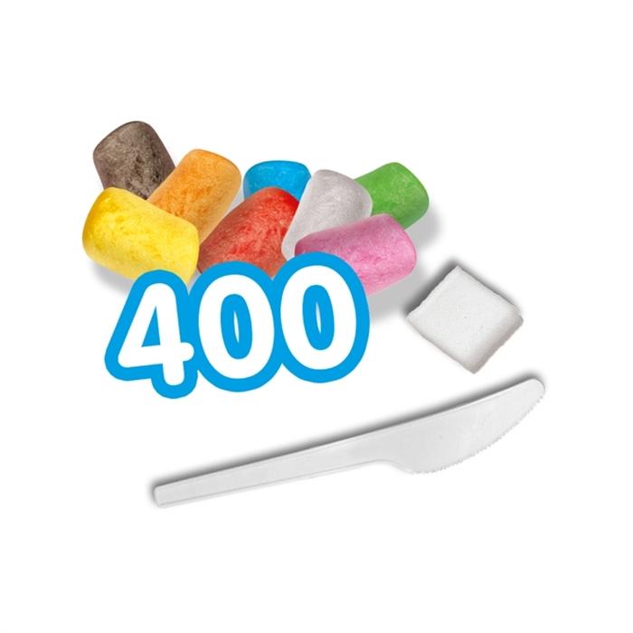SES Creative Funmais Mısır Köpükleri - 400 Parça