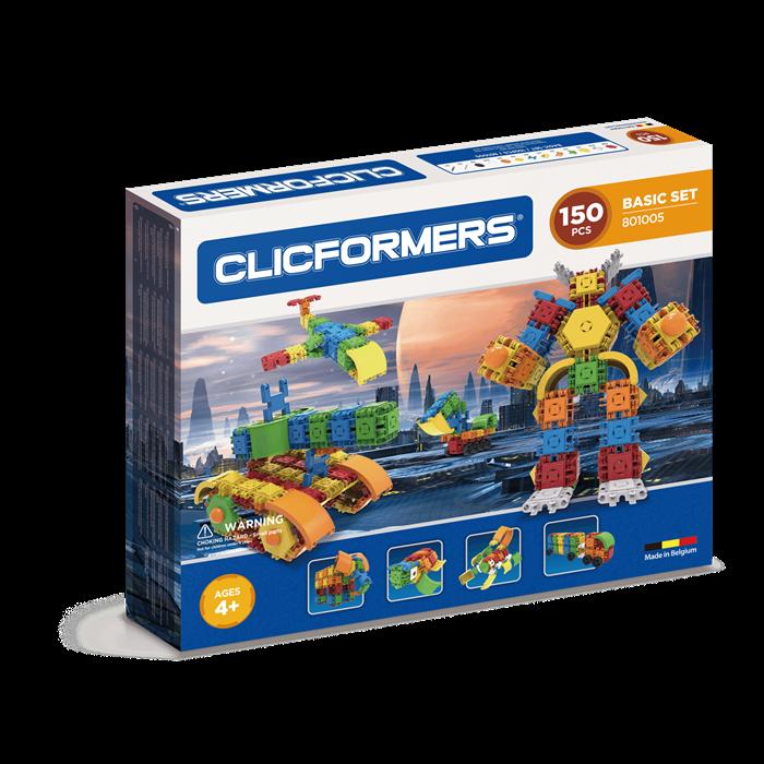 Clicformers Basic Set - 150 pcs