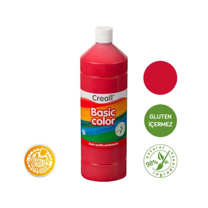 Creall Basic Color - Koyu Kırmızı 1000ml