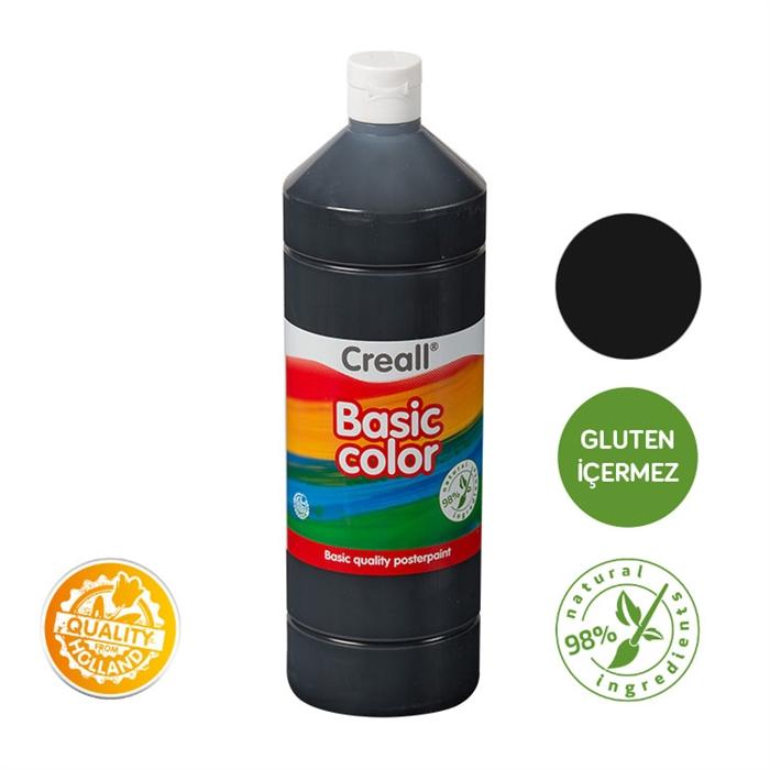 Creall Basic Color - Siyah 1000ml