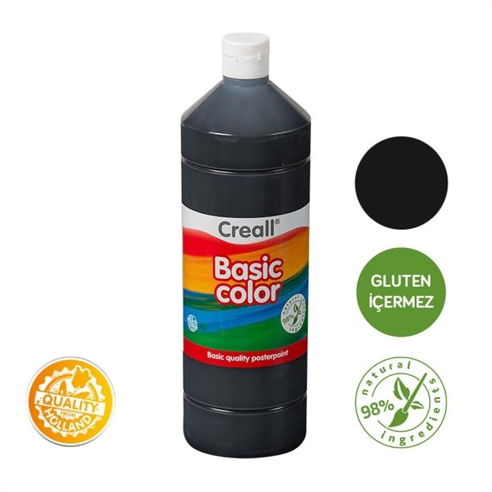 Creall Basic Color - Siyah 500ml