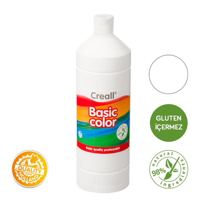 Creall Basic Color - Beyaz 500ml