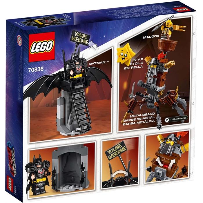 Lego 70836 Filmi 2 Savaşa Hazır Batman ve Metal Sakal