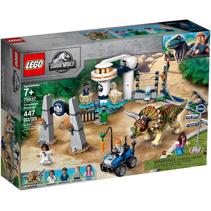 Lego 75937 Jurassic World Triceratops Saldırısı