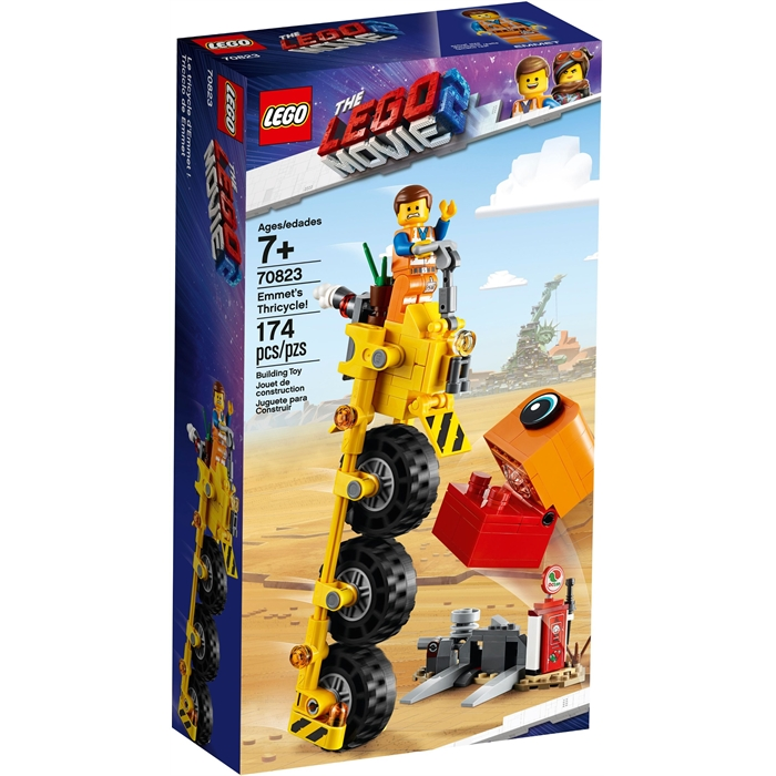 Lego 70823 Filmi 2 Emmets trehjuler!
