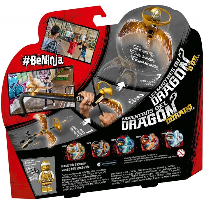 Lego 70644 Ninjago Altın Ejderha Ustası