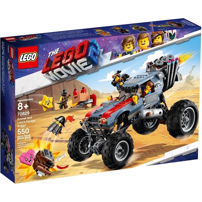 Lego 70829 Filmi 2 Emmet og Lucys flugtbuggy