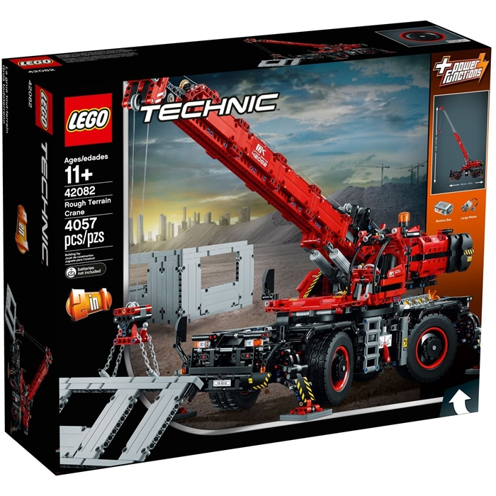 Lego 42082 Technic Arazi Vinci