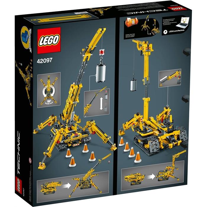 Lego 42097 Technic Kompakt Örümcek Vinç