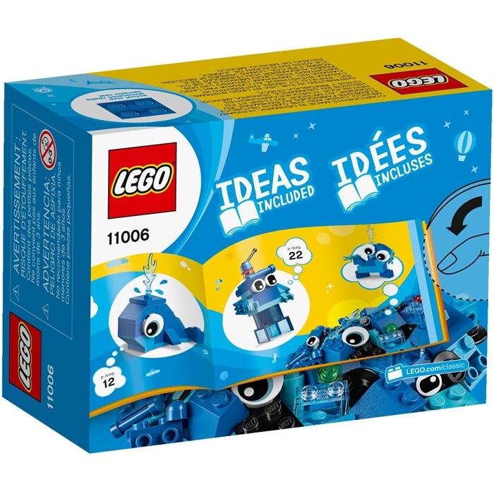 Lego 11006 Classic Yaratıcı Mavi Yapım Parçaları