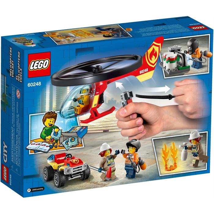 Lego 60248 City İtfaiye Helikopteri Müdahalesi