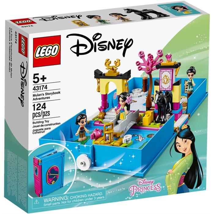 Lego 43174 Disney Mulan'ın Hikâye Kitabı Maceraları