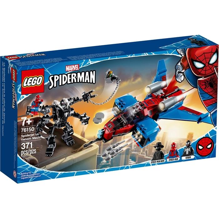 Lego 76150 Marvel Spider-Man Spider-Jet, Venom Robotuna Karşı