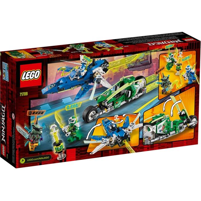 Lego 71709 Ninjago Jay ve Lloyd'un Hızlı Yarışçıları