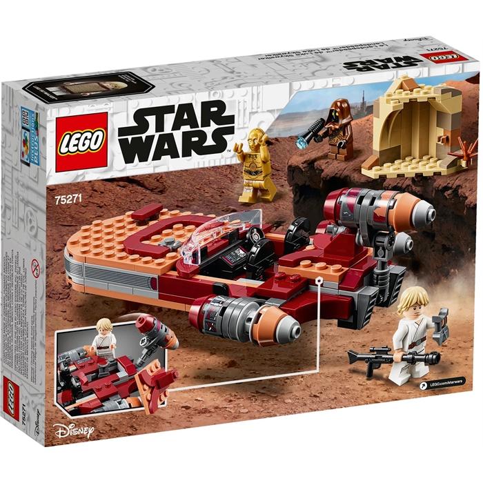 Lego Star Wars 75271 Luke Skywalker'ın Kara Motoru