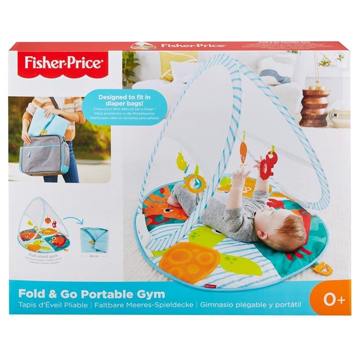 Fisher Price Renkli Dostlar Taşınabilir Jimnastik Merkezi