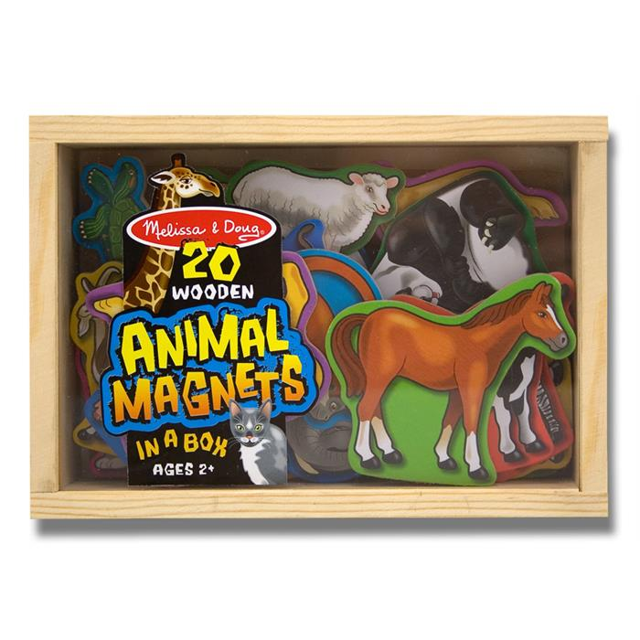 Melissa and Doug Ahşap Mıknatıslı Hayvanlar